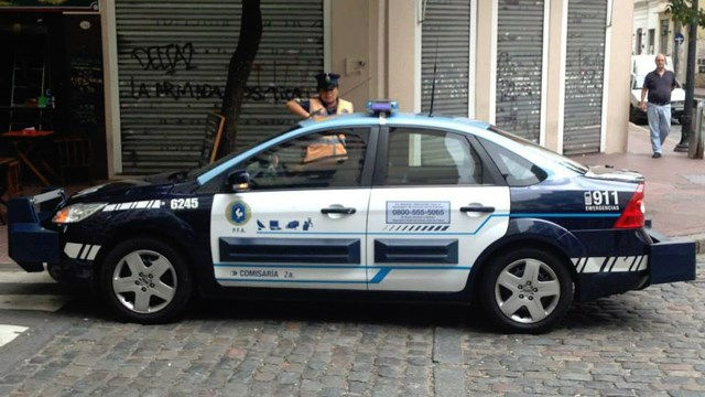 Police Cars Argentina