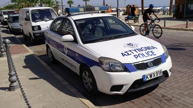 Police Cars Cyprus
