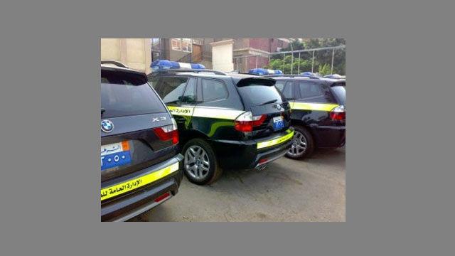 Police Cars Egypt