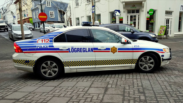 Police Cars Iceland