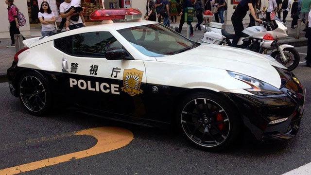 Police Cars Japan