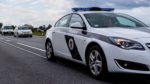 Police Cars Latvia