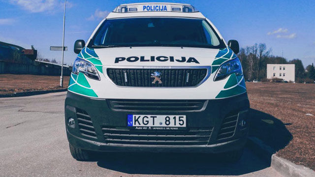 Police Cars Lithuania