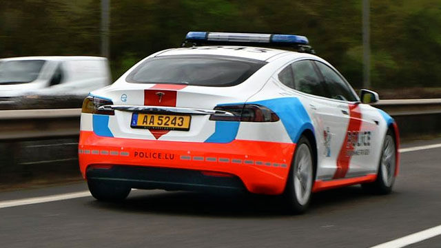 Police Cars Luxembourg