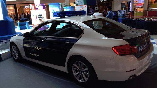 Police Cars Oman
