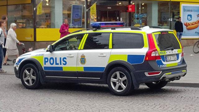 Police Cars Sweden