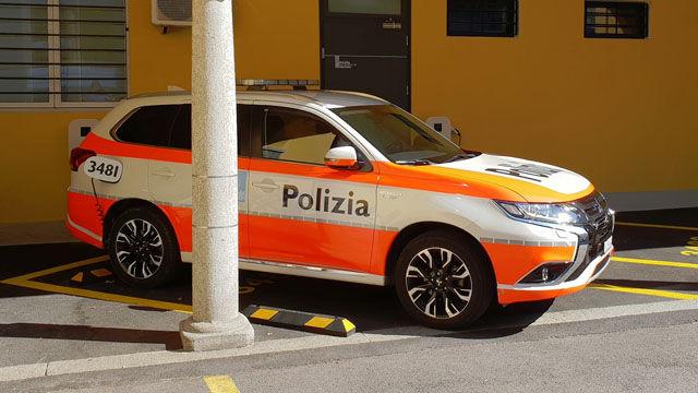 Police Cars Switzerland