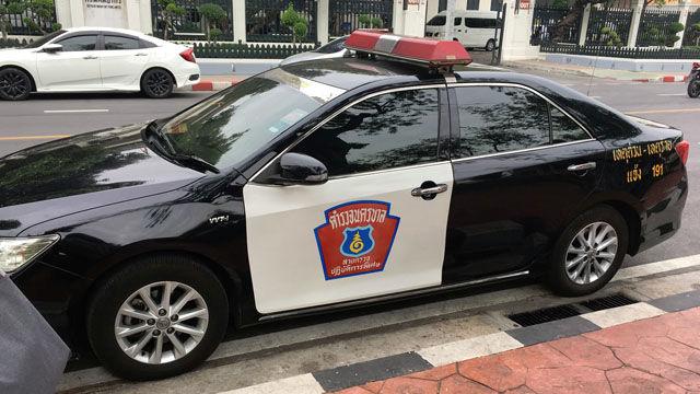 Police Cars Thailand