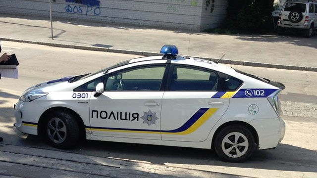 Police Cars Ukraine