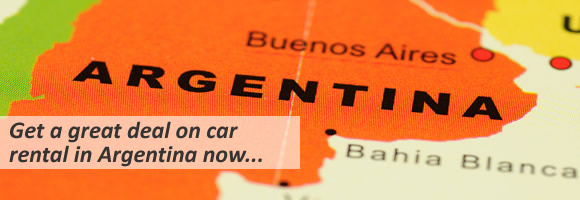 Cheap car hire Argentina